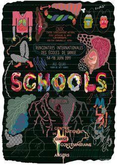 Schools 2011 #et #cndc #manuel #antoine #illustration