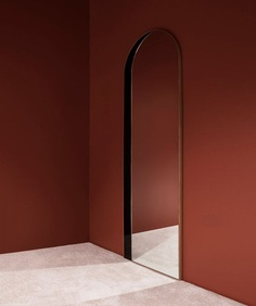 Slim Archway Mirror by Bower