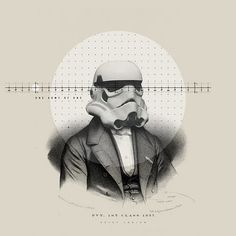The Collective Loop #nick #design #graphic #wars #agin #storm #vintage #star #trooper
