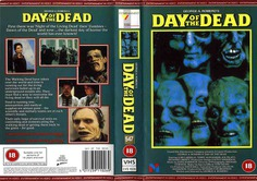 Day Of The Dead (second cover) (VHS Box Art)