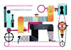 grain edit · Maria Corte #illustration
