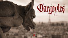 Gargoyles #urban #calligraphy #fantasy #animated #dramedy #adventure #gothic #disney #mystery #crime #thriller #series #abc #science #action