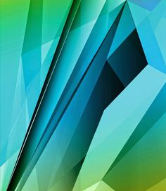 Azure - vector #geometry #geometric #lobby art #abstract #digital #vector #scale #sarasota