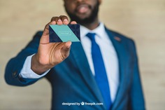 Businessman showing business card Free Psd. See more inspiration related to Business card, Mockup, Business, Card, Man, Presentation, Elegant, Present, Businessman, Mock up, Success, Business man, Modern, Show, Suit, Up, Successful, Holding, Mock, Presenting and Showing on Freepik.