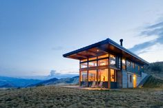 Nahahaum Lodge by Balance Associates