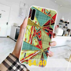Geometric #Marble #Painted #Phone #Case #for #Xiaomi #Mi #CC9E #/ #Mi #A3 #- #MULTI-E