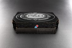 Domino's Pan Pizza #illustration #branding #typography
