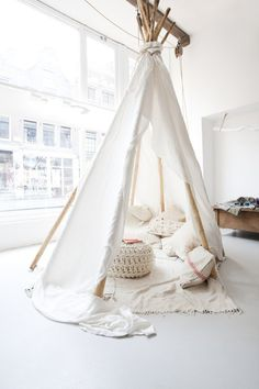Friday, April 13, 2012, Sukha Amsterdam #interior #tipi #tent