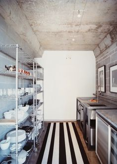 antonia magdalena #interior #concrete #design #kitchen #deco #decoration