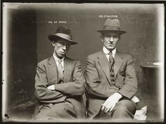 Mugshots from the 1920s are Significantly Cooler Than Mugshots from Today