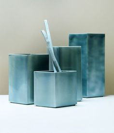 Bouroullec Created Losanges – a Limited Series of Unique Vases - InteriorZine