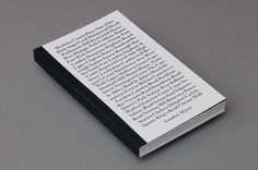 Cover #cover #book #editorial #typography