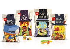 Pams Confectionery Range — The Dieline #packaging #confectionery #pams
