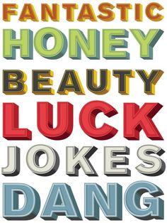 Letters_sample.jpg #luck #honey #beauty