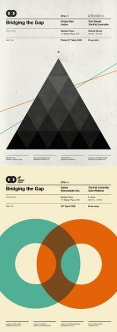 Ross Gunter | AisleOne #print #avant #geometric #poster #garde #layout #typography