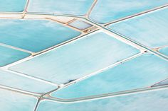 Blue Fields - Simon Butterworth #aerial #photography #water #abstract
