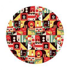 Argijale Illustration #pattern
