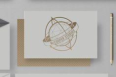 McCooper Studios #emboss #print #block #hot #brand #logo #foil