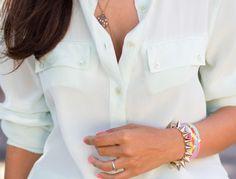 Likes | Tumblr #pink #bracelet #shirt