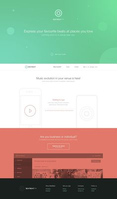 Landing page by David Stefanides