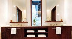 Modern Bathroom Furniture -Bathroom cabinets #interior #design #bathroom #bathtub #decoration