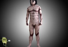 Attack on Titan Eren Titan Cosplay Costume #titan #eren #costume #cosplay
