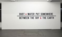 lawrence weiner - Google Search #brutalist #brutalism