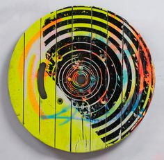 Ollie Lucas | PICDIT #design #color #painting #art #circle #colour