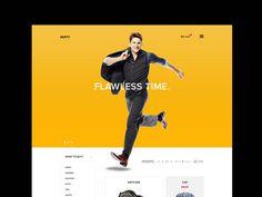 Online Shop Suity PSD Template
