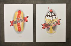 Wiener_Sundae_Prints #undae #on #weiner #fire #studio