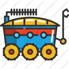 See more icon inspiration related to science, moon rover, transportation, automobile, vehicle and transport on Flaticon.