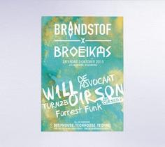 Brandstof - Je Favoriete Ontwerpers Visuele Communicatie #poster #dutchdesign #flyer