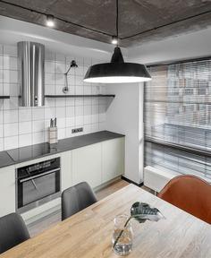 InCaprice Created Open Space Juxtaposing Industrial Elements - InteriorZine