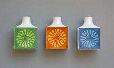 Otl Aicher 1972 Munich Olympics - Ceramics #olympic #otl #vase #1972 #aicher #logo #munich