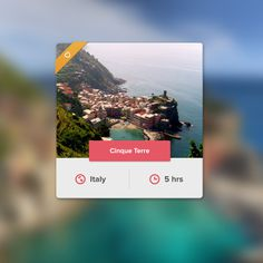 Favorite city UI #city #ui