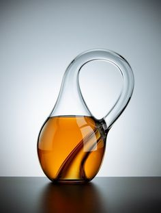 Klein Bottle | arch|dez|art #glass #design #minimal #bottle