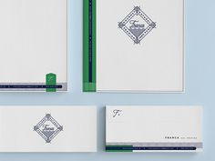 Franca III #identity #collateral #logo #martin #typography