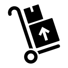 See more icon inspiration related to cart, transport, trolley, delivery, boxes, logistics delivery, packages, business and wheels on Flaticon.