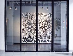 Live drawing by Nastya KFKS, Shanghai, Cina. #art #exhibition #nastyakfks #kfks #black #animals #awesome #shanghai #china #mural #art #nyc