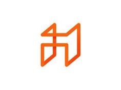 A for abstract architecture, letter mark / logo design symbol by Alex Tass, logo designer