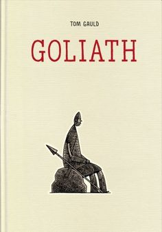 tumblr_m1rkrzK5001qbjt99.jpg (JPEG Image, 500×716 pixels) #cover #goliath #illustration #typography