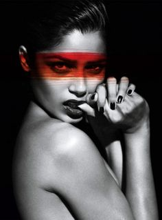 Merde! - keng001: (via Freida Pinto by Mert & Marcus for... #fashion #photography