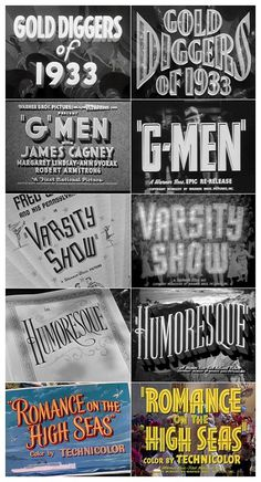 Warner Bros. main title sequences
