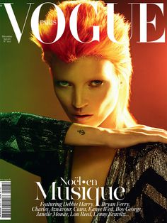 Kate Moss #cover #katemoss #vogue #fashion