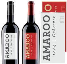 Amaroo Wines #henderson #archer #typogra #wine #kendall #typography