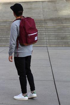 Herschel Hero #fashioin #menswear #streetstyle #backpack #herschel