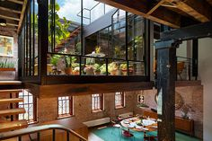 An Old Tribeca Soap Factory Converted Into a Stunning Loft Apartment | HUH. #interior #design