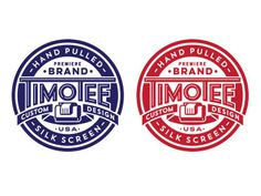 Timotee Original: http://ift.tt/YBsT91 #badge #screen print #logo #brand