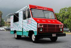 PAPAYA'S Casual Bite on Behance #foodtruck #red #branding #design #graphic #hotdogs #food #burgers #logo #fast #green