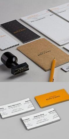 Berg & Berg Identity | AisleOne #stamp #letterhead